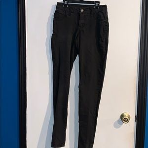 Black small jeggings from Maurices!